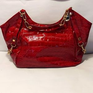 GIANNI BINI NWOT TOTE CROCO PURSE
